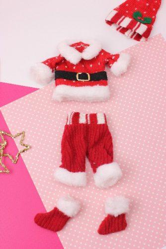 サンタクロースの服