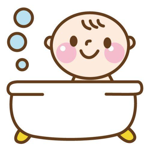 お風呂でご機嫌