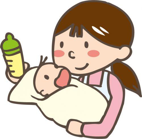 母乳からミルクへ移行