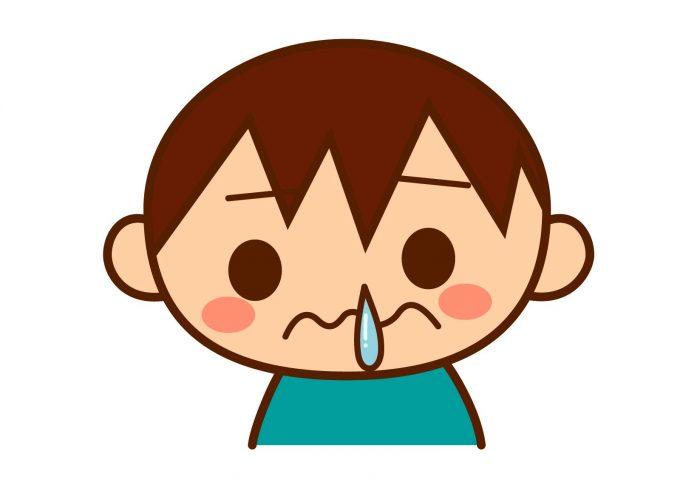【鼻水を止める方法】「子供編」病院に行かず家でもできる2つの対処法