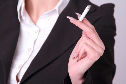 授乳中の喫煙