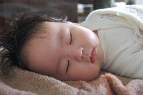 赤ちゃん まつ毛