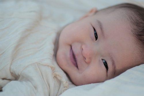 機嫌のいい赤ちゃん