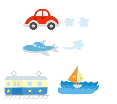 【赤ちゃんの長距離移動】移動手段別で考えるメリットとデメリット