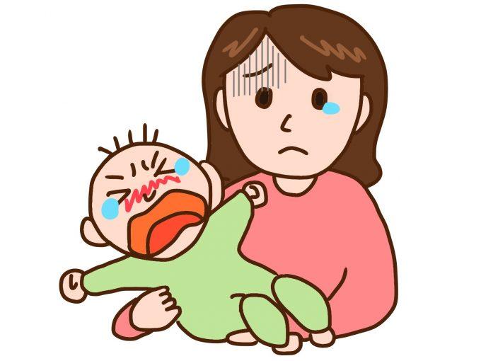 【腸重積の赤ちゃん】4つの原因と腸重積の3つの主な症状